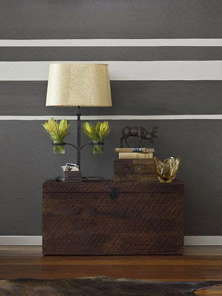 Wand Streichen Streifen Horizontal by Horizontal Stripes On Walls 15 Modern Interior Decorating
