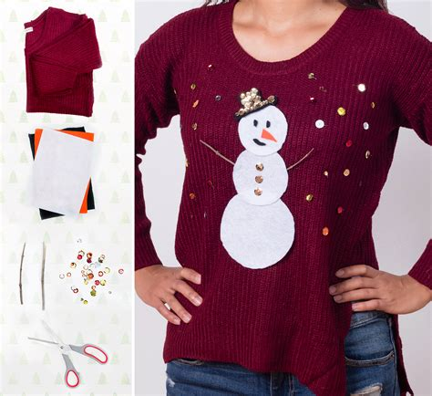 5 diy ugly christmas sweater ideas shutterfly