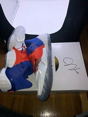 James Harden Adidas Vol 4 Msg Hand Signed Autograph ...