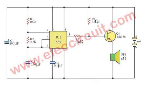 Circuits Alarm Sound Tone Generator