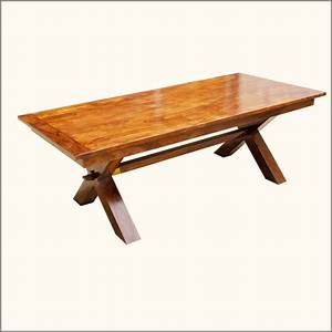 Dining table picnic style dining table for Picnic table style dining table