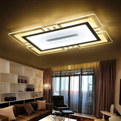 led kitchen ceiling lighting modern led ceiling lights acrylic l kitchen living room 6904