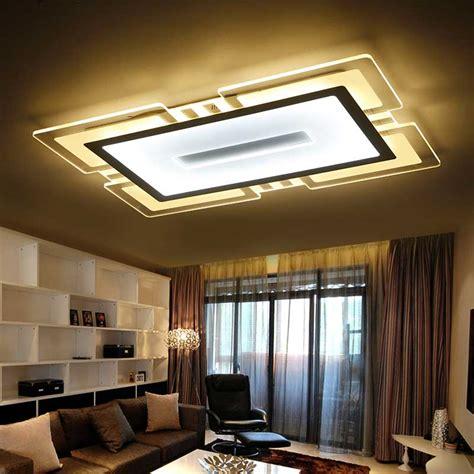 kitchen lighting led ceiling modern led ceiling lights acrylic l kitchen living room 5367