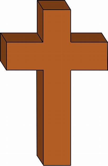 Cross Christian Clipart Transparent Clip Religious Christianity