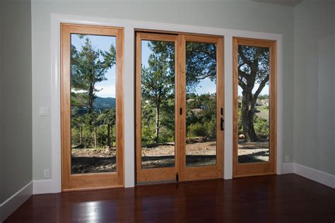 sliding french doors interior bedroom contemporary