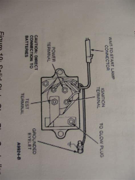 ford glow relay wiring diagram 35 wiring diagram
