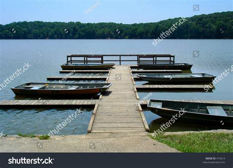 Lake Boats Small by Small Boat Dock On Lake Stock Photo 415614