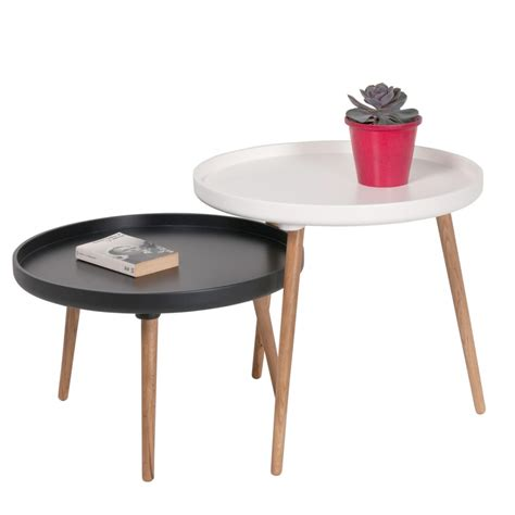 pied de canapé design table basse scandinave kompass 90 by drawer