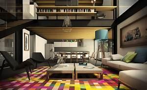 Teppich Im Wohnzimmer : modernes wohnen 110 ideen wie sie modern wohnen ~ Frokenaadalensverden.com Haus und Dekorationen