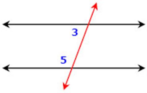 same side interior angles parallel lines transversals and all of the corresponding