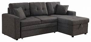 darwin sectional sofa with storage and pull out bed With pull out sofa bed with storage