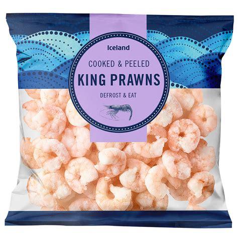 Iceland King Prawns 375g   Prawns & Seafood   Iceland Foods