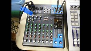 Yamaha Mg10xu Recording Test
