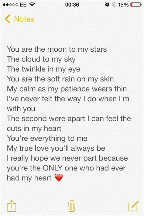 quote love poem rhyme stars moon  poems love
