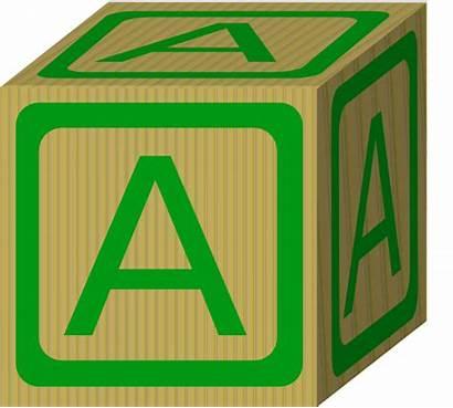Block Alphabet Blocks Clip Clipart Letters Abc