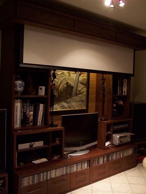 si鑒e de escamotable ecran de projection escamotable derriere un meuble table de lit
