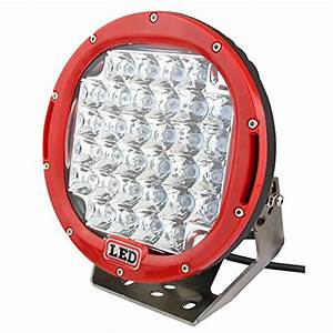 2pcs 185w 9 Inch Cree Offroad Led Driving Light Spot Beam