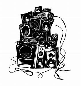 Boombox Drawing - ClipArt Best