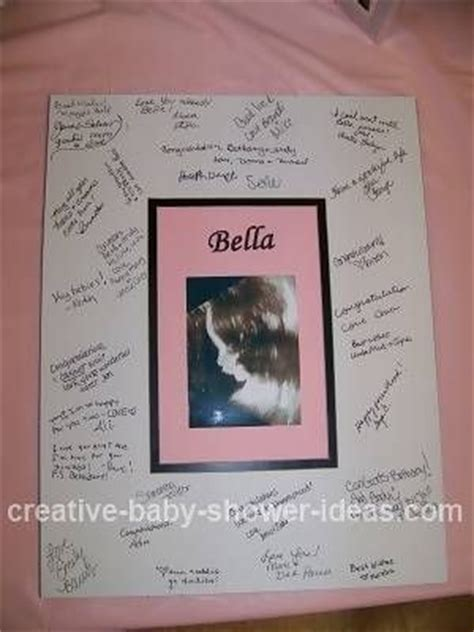 creative baby shower guest book diy ideas