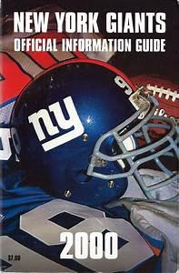 Nfl Media Guide  New York Giants  2000