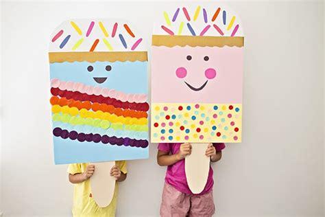 diy giant ice cream popsicle craft