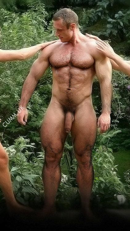 hung silver daddy touch daddy the art of hapenis
