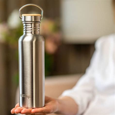 Reusable Sustainable Steel Water Bottle By Global Wak Ecup ...