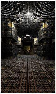 CGI 3d Abstract Hallway Corridor Fractal Wallpaper ...