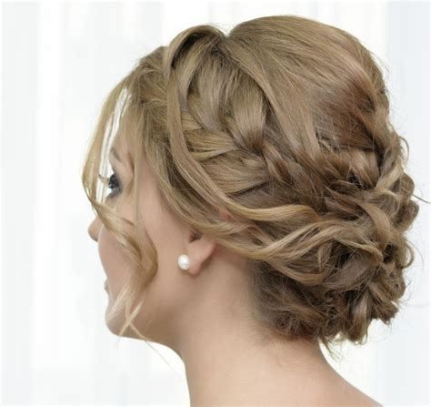 side updos for weddings