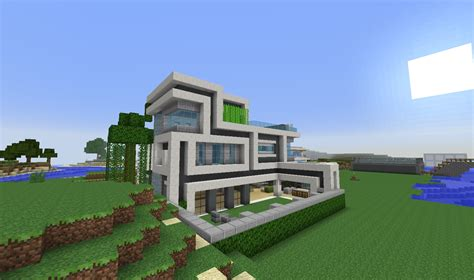 Minecraft Moderne Häuser Map by Moderne Minecraft H 228 User Wolkenkratzer Modernes Haus Best
