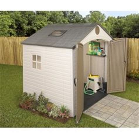 Lifetime Products Gable Storage Shed by Lifetime Resin Storage Building 8 X 7 1 2 1 034 99