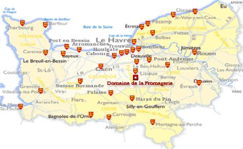 tourism in calvados normandy from domaine de la fromagerie