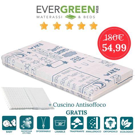 materasso lettino misure materasso lettino o per bambini alto 12 cm cuscino
