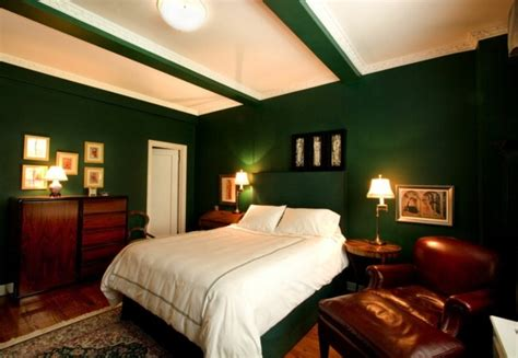 excellent ideas  green wall design  bedroom