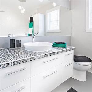 comment transformer la salle de bain a petit budget With comment decorer la salle de bain