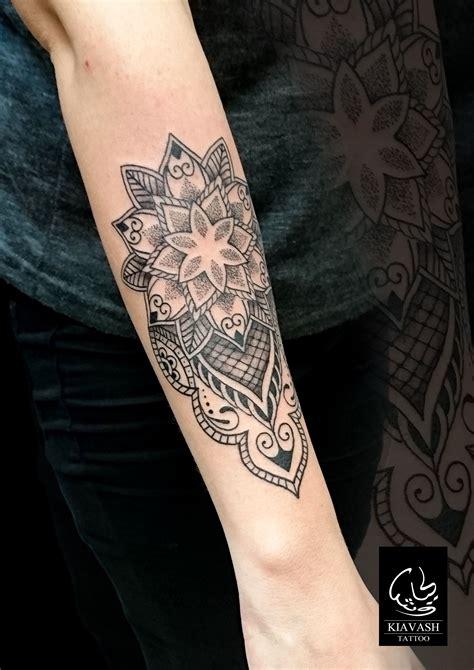 forearm ornamental tattoo  girl tatuajes maories