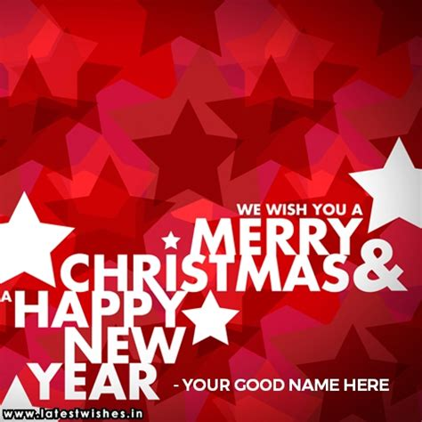 merry christmas 2018 name picture