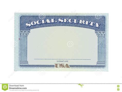 blank social security card stock photo image  money