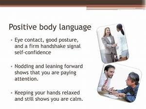 PPT - What does your body language say? PowerPoint ...