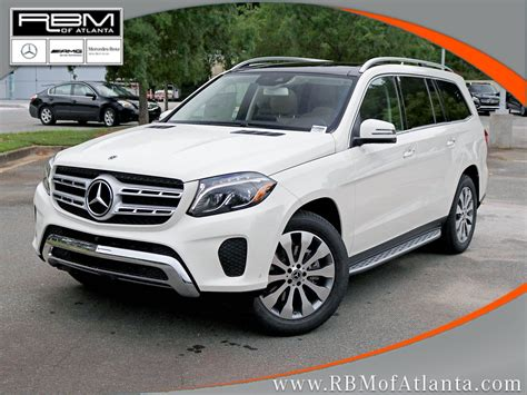It has its own set of advantages. New 2018 Mercedes-Benz GLS GLS 450 SUV in Atlanta #K10569 | RBM of Atlanta