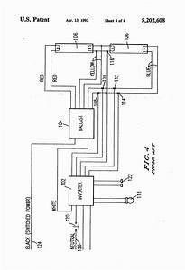 Fluorescent Ballast Wiring Diagram