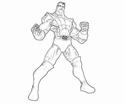 Coloring Colossus Marvel