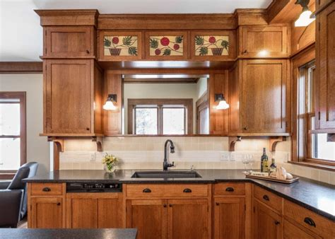 craftsman kitchen cabinets creating a new craftsman kitchen for an house in 2983