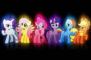 My Little Pony Neon Version wallpaper Opera add ons