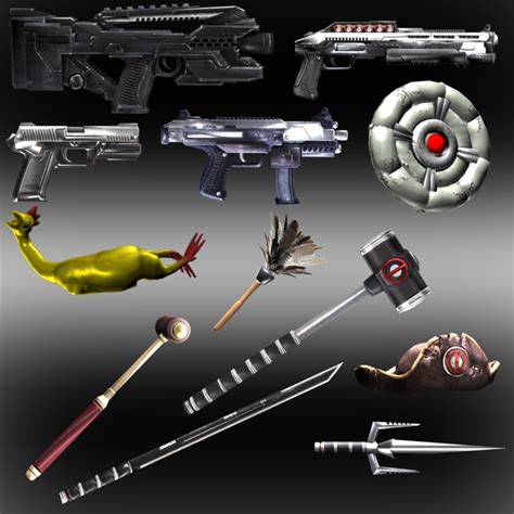 Deadpool Weapons And Props By Ik1l73r On Deviantart