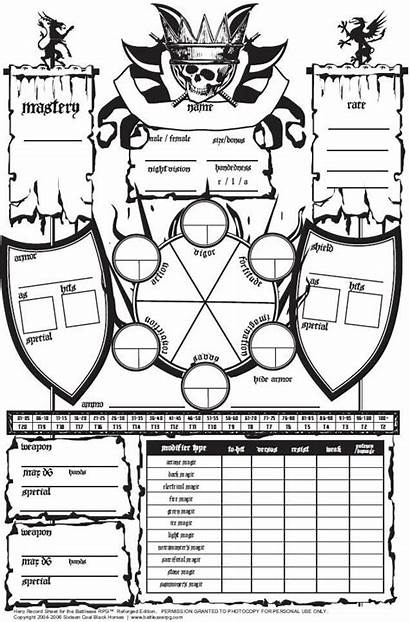 Character Sheets Rpg Sheet Dungeons Dragons Catching
