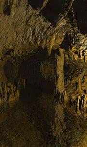 Free 3D Wallpaper 'Sandstone Cave' 1024x768