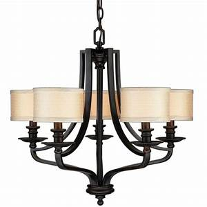 Hampton bay light oil rubbed bronze hanging chandelier