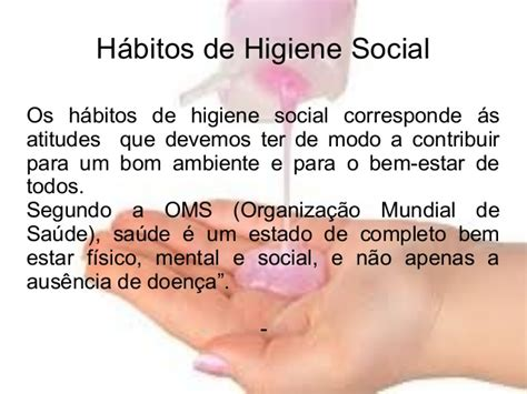 si e social de higiene pessoal