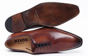 Chaussure De Ville Homme Marron : chaussures xoos bond cuir marron chemise homme ~ Nature-et-papiers.com Idées de Décoration